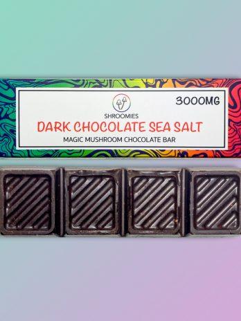 Dark Chocolate Sea Salt Mushroom Edible