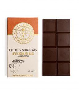 Golden Shrooms Chocolate Edible
