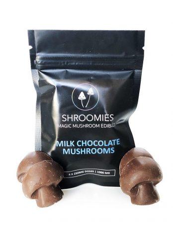 Shroomies-Milk Chocolate edible